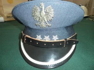 CZAPKA KOMENDANTA ZK.FUNDATOR-DYREKTOR ZK WŁODAWA