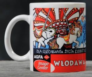 KUBEK WOŚP-WŁODAWA.FUNDATOR-AGFA-P.STEFAŃSCY-WŁODAWA
