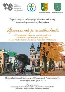 Spacerownik Włodawa - plakat