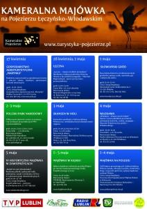 plakat majówka 2013 z logami - Kopia