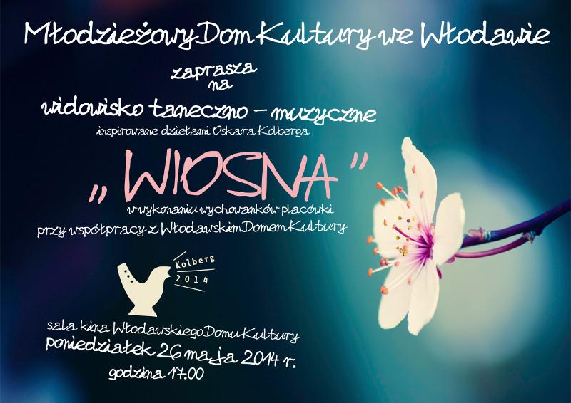 plakat_widowisko_wiosna_kolberg2014