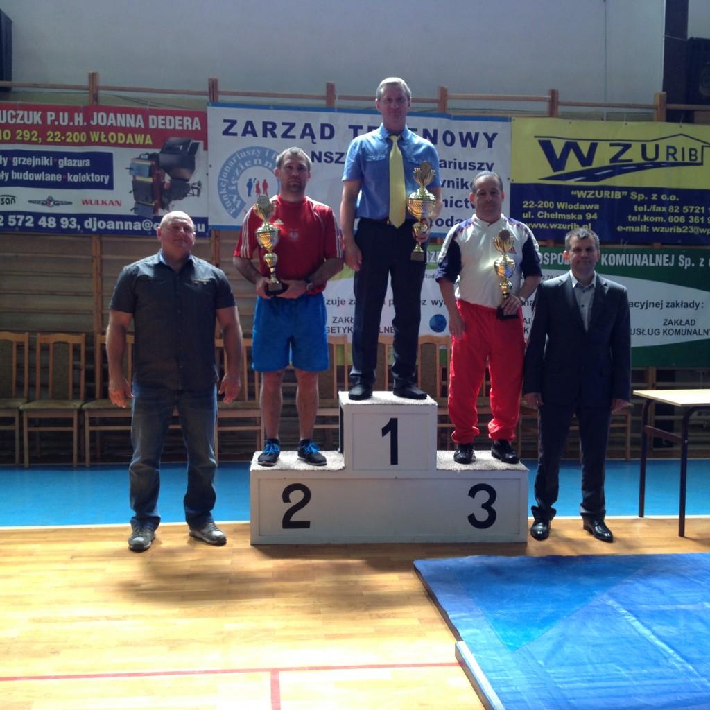 Klasyfikacja klubowa kadetow III Miejsce Wlodawa