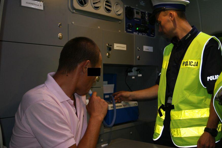 alkomat 3 policja