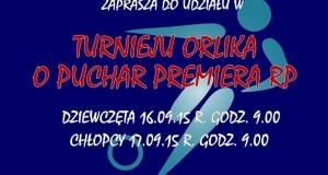 Plakat - Turniej o Puchar Premiera