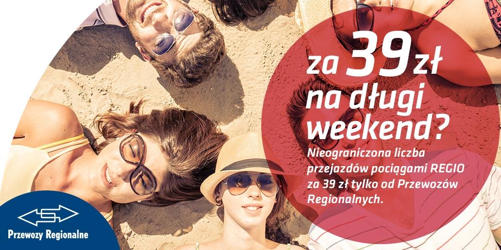Długi weekend za 39 zł - grafika 1024x512