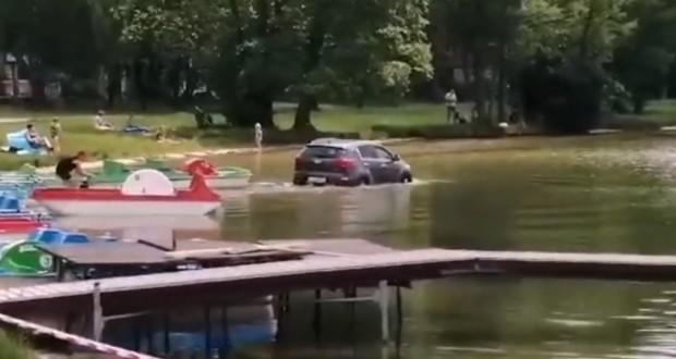 do jeziora
